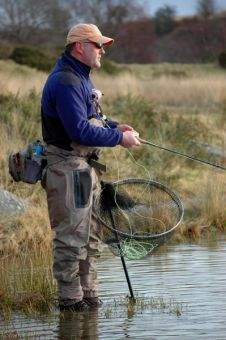 Fastnet Hywel Morgan Telescopic Folding Bank Landing Net